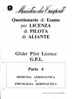 04 – Medicina Aeronautica e Psicologia del Volo