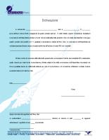 Dichiarazione ricevimento comunicazioni