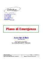 Piano di Emergenza dell'AeroClub di Rieti (Revisione B)