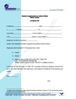 Seminario di aggiornamento per Istruttori di Aliante 2014 – Modulo iscrizione