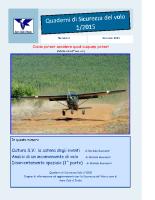 Quaderno Sicurezza Volo 1/2015