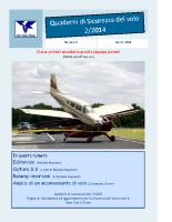 Quaderno Sicurezza Volo 2/2014