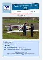 Quaderno Sicurezza Volo 3/2014