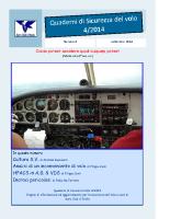 Quaderno Sicurezza Volo 4/2014