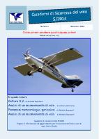 Quaderno Sicurezza Volo 5/2014