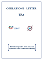 Self Briefing – Operations Letter