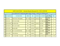Campionato Aereo 2015 – CALENDARIO VOLO A MOTORE 2015