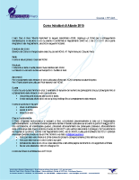 Regolamento del Corso Istruttori Aliante 2015