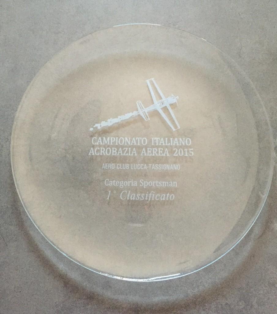 Simone Crisarà Premio Campione Italiano Sportsman