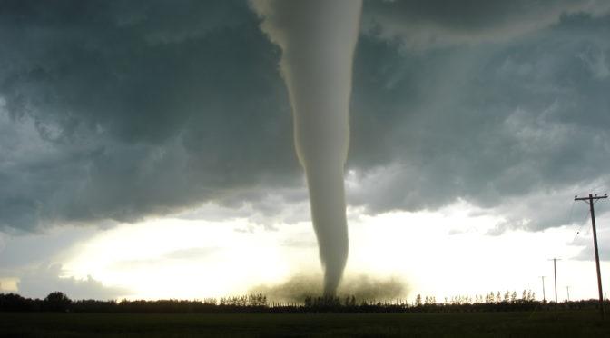 Tornado. Foto di Justin1536 su Wikipedia English