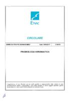 ENAC Fraseologia Aeronautica – Circolare ATM-08 2017