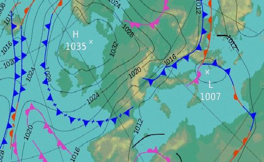 Corso di meteorologia applicata al VV