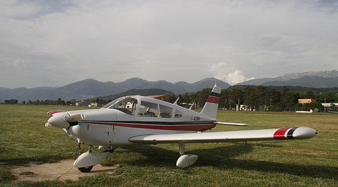 Arrivato il PA-28 I-ACMM