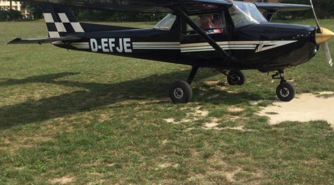 Arrivato il Cessna C150L D-EFJE