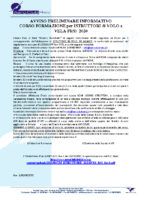 CORSO ISTRUTT. 2020 AVVISO PRELIMINARE rev 1